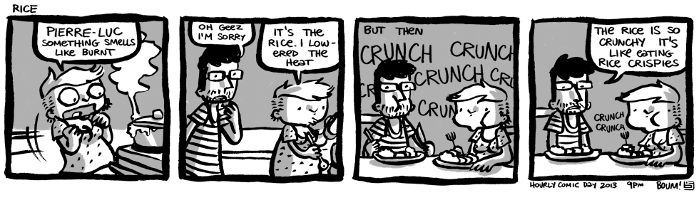 Hourly Comic Day 2013