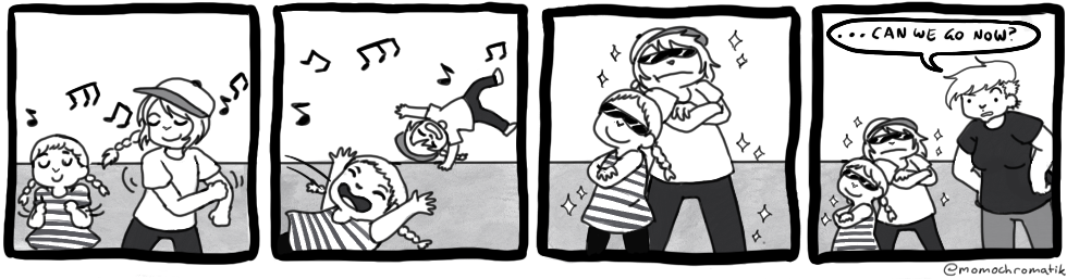Guest Comic: Dance