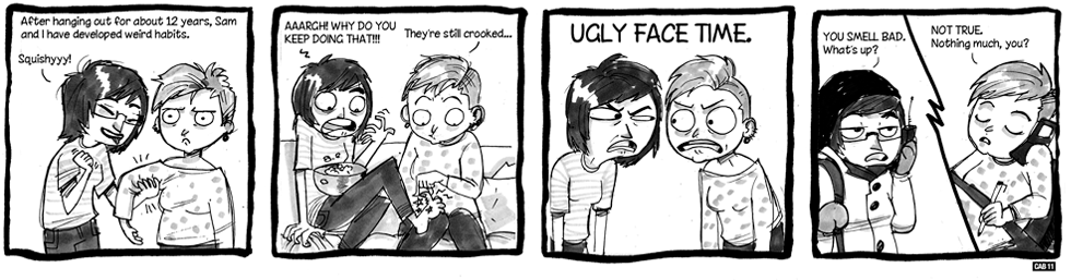 Guest Comic: Ugly Face Time