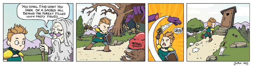 Guest Comic: Quest