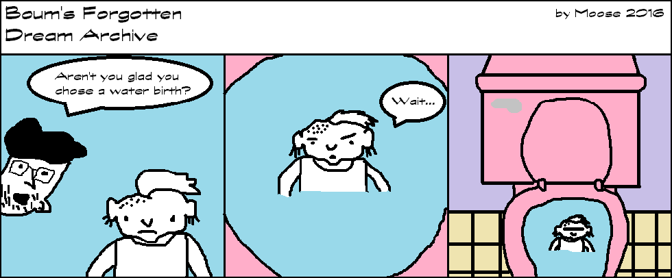 Guest Comic: Water Birth