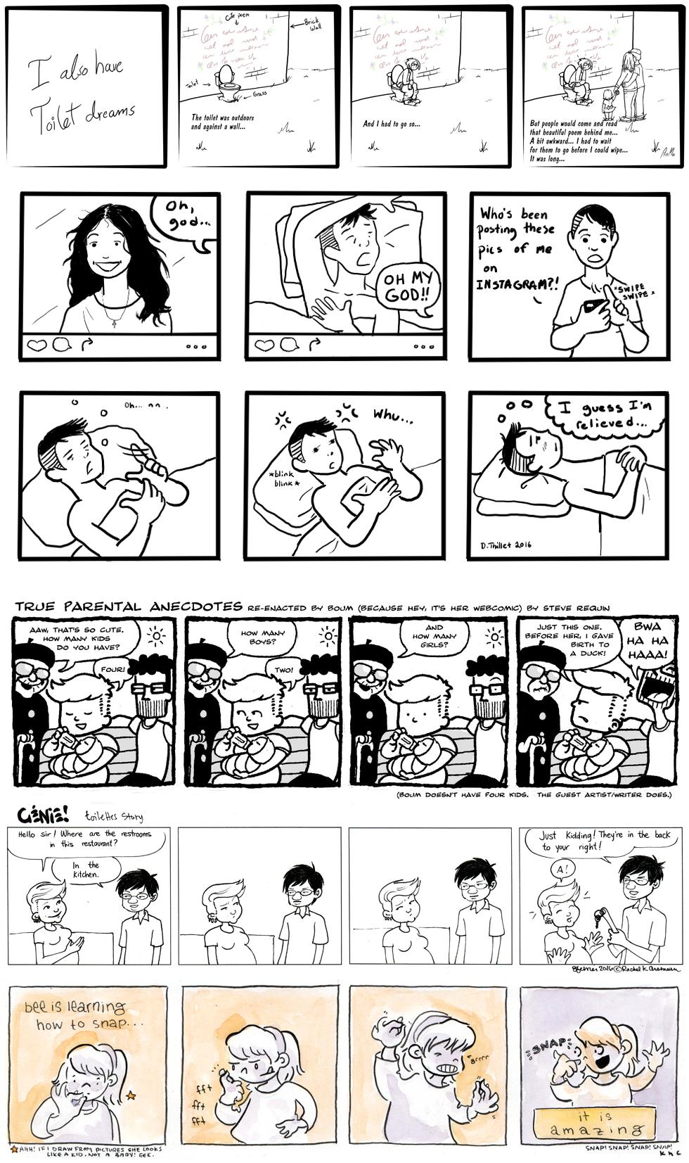 Guest Comics: Batch 3