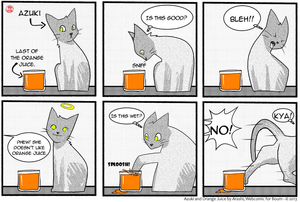Guest Comic: Orange Juice