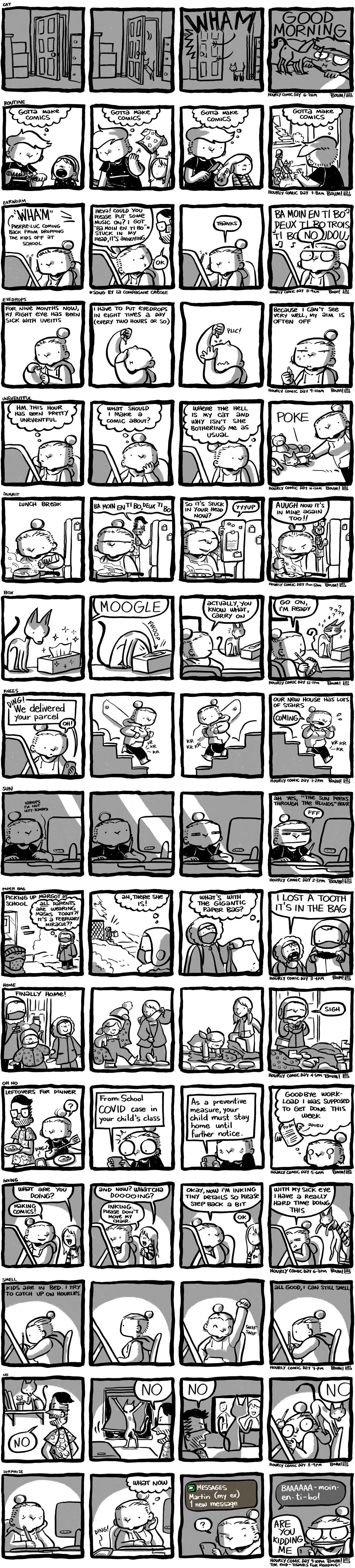 Hourly Comic Day 2021